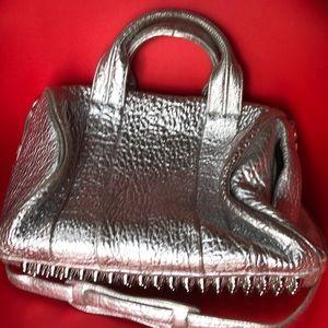 Alexander Wang silver Rocco bag